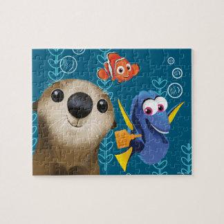 Encontrar el Dory el | Nemo, el Dory y la nutria Puzzles