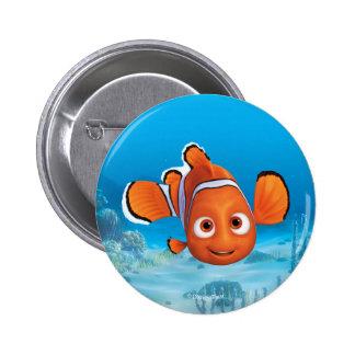 Encontrar el Dory Nemo Pin Redondo De 2 Pulgadas