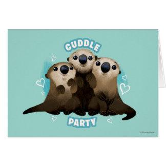 Encontrar el fiesta de la abrazo de las nutrias el tarjeta de felicitación