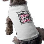 Encontrar una curación comienza con anemia de la c camisetas mascota