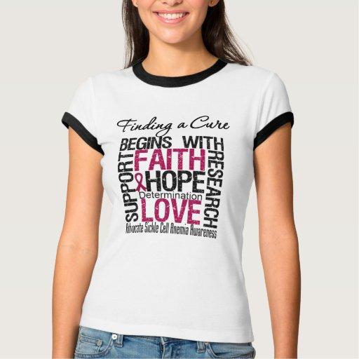 Encontrar una curación comienza con anemia de la t-shirts