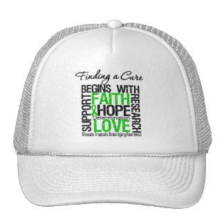 Encontrar una curación comienza con la esperanza T Gorros