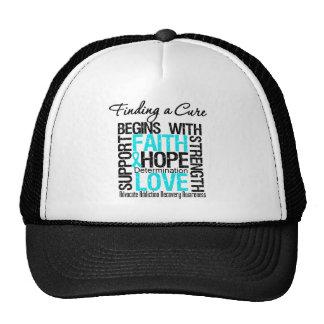Encontrar una curación comienza con la recuperació gorra