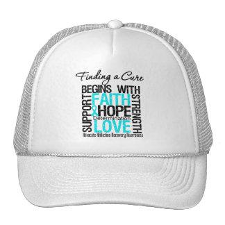 Encontrar una curación comienza con la recuperació gorras
