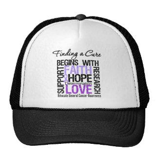 Encontrar una curación para el cáncer gorras de camionero