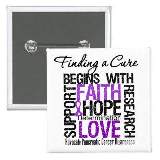 Encontrar una curación para el cáncer pancreático pin cuadrado