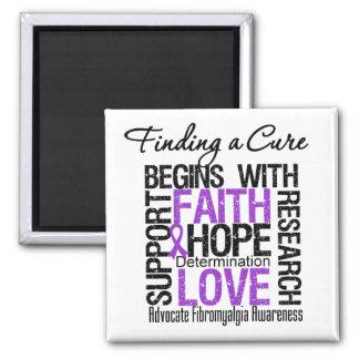 Encontrar una curación para el Fibromyalgia Imán Cuadrado