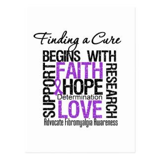 Encontrar una curación para el Fibromyalgia Tarjetas Postales