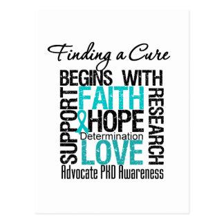 Encontrar una curación para la enfermedad de riñón tarjeta postal