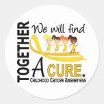 Encontraremos a un cáncer de la niñez de la curaci etiqueta