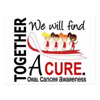 Encontraremos a un cáncer oral de la curación postal