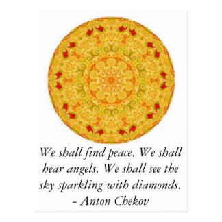 Encontraremos paz. Oiremos ángeles ......... Tarjetas Postales