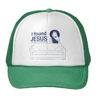 Encontré a Jesús que él era detrás del sofá el ti  Gorras