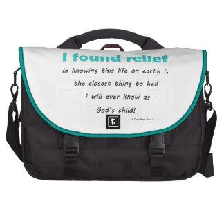 encontré alivio bolsas para portatil