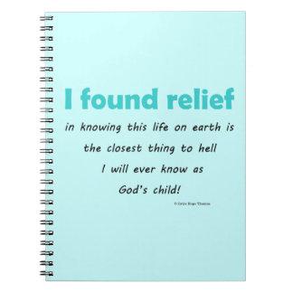 encontré alivio cuadernos