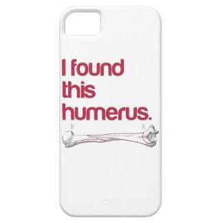 Encontré este húmero iPhone 5 Case-Mate protectores