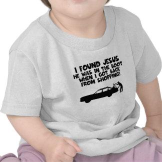 Encontré la parodia de Jesús Camiseta
