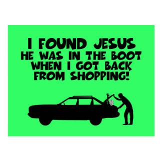 Encontré la parodia de Jesús Tarjetas Postales