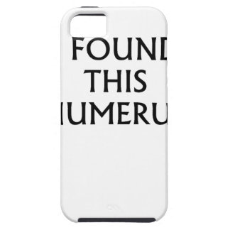 encontré las camisetas .png de este húmero iPhone 5 Case-Mate coberturas