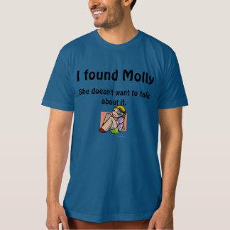 ¡Encontré Molly! Playera