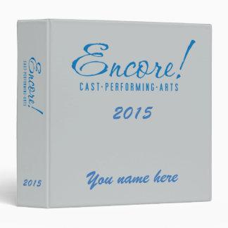 Encore! 2015, logo Binder