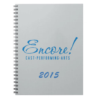 Encore! Logo Notebook in Grey
