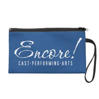 Encore! Logo wristlet