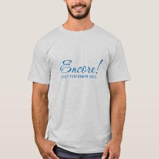 Encore! Men's logo T-shirt in Ash