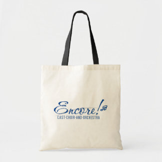 Encore Tote with Blue logo