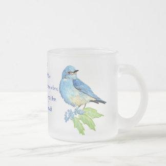 Encoucouraging Scripture Matthew 6:26, Bird Art Mugs