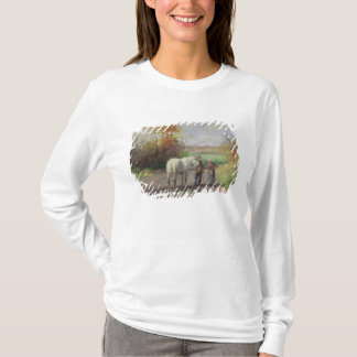 Encounter on the Way to the Field, 1897 T-Shirt