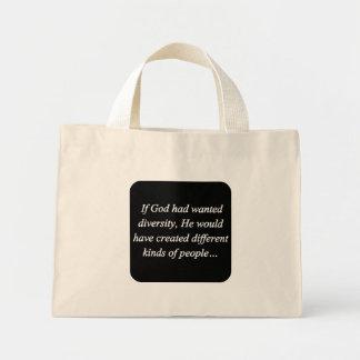 Encourage Diversity Reverse (sq) Bags