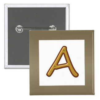 Encourage Excellence : Golden AAA Award Image 2 Inch Square Button