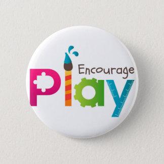 Encourage Play Round Button Logo