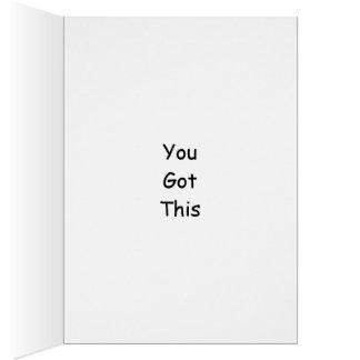 Encouragement ~ 9 card