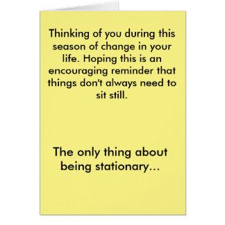 Encouragement Card - Season of Change - Extended