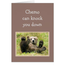 Encouragement Chemo can knock you down. Card