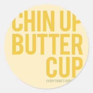 Encouragement Classic Round Sticker