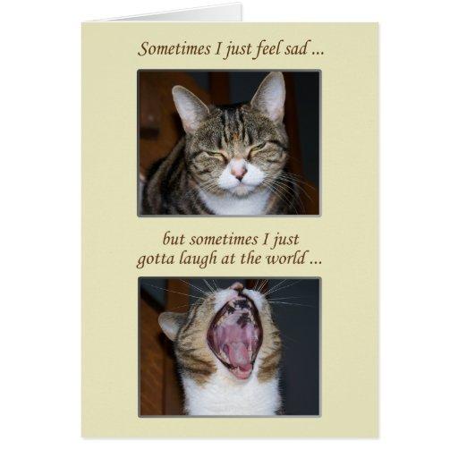 Encouragement for an Illness, Cute Cat Cards
