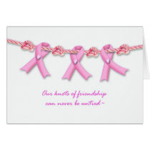 Encouragement for Breast Cancer Patient, Pink Card