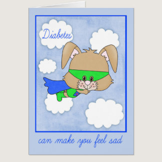 Encouragement For Child with Diabetes Card
