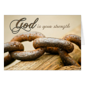 Encouragement for Strength Greeting Cards