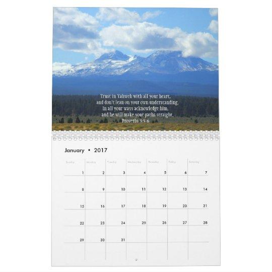 Encouragement from the Creator 2011 Calendar