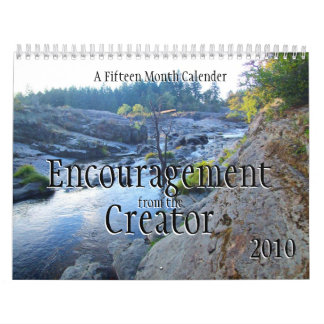 Encouragement from the Creator Calendar