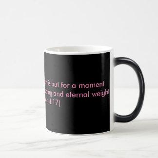 Encouragement from the word of God Magic Mug