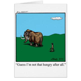 Encouragement Greeting Card Humor