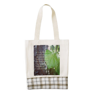 Encouragement Nature Themed Tote Zazzle HEART Tote Bag