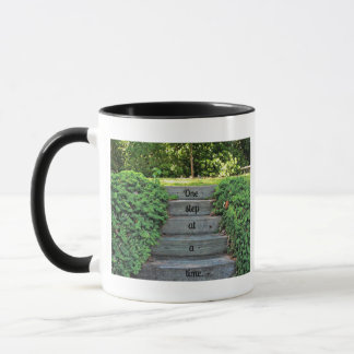 Encouragement: One step at a time Mug