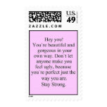ENCOURAGEMENT SAYING STAY STRONG EXPRESSIONS COMME STAMP