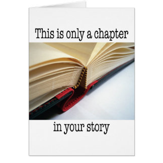 Encouragement - This is Only a Chapter Card